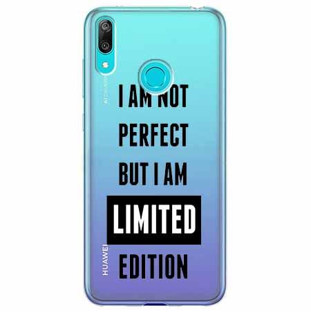 Etui na Huawei Y6 2019 - I Am not perfect…