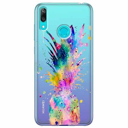 Etui na Huawei Y6 2019 - Ananasowa eksplozja.