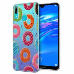 Etui na Huawei Y6 2019 - Lukrowane pączki.