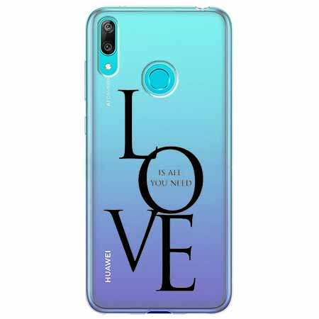 Etui na Huawei Y6 2019 - All you need is LOVE.