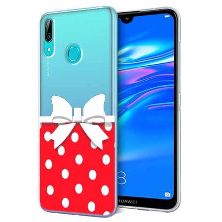 Etui na Huawei Y6 2019 - Gustowna kokardka.