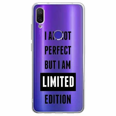 Etui na Xiaomi Redmi Note 7 - I Am not perfect…