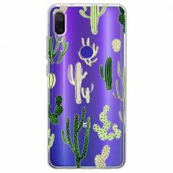 Etui na Xiaomi Redmi Note 7 - Kaktusowy ogród.