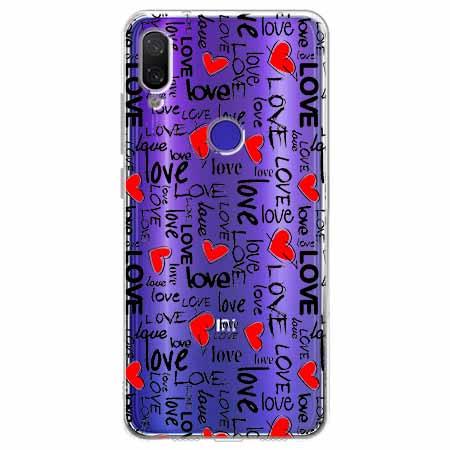 Etui na Xiaomi Redmi Note 7 - Love, love, love…