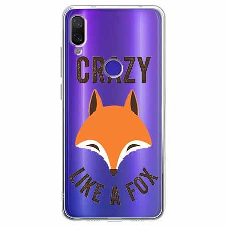 Etui na Xiaomi Redmi Note 7 - Crazy like a fox.