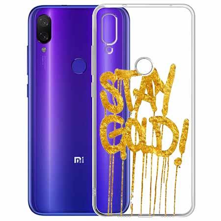 Etui na Xiaomi Redmi Note 7 - Stay Gold.