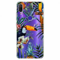 Etui na Xiaomi Redmi Note 7 - Egzotyczne tukany.