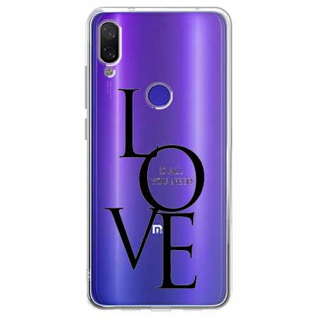 Etui na Xiaomi Redmi Note 7 - All you need is LOVE.