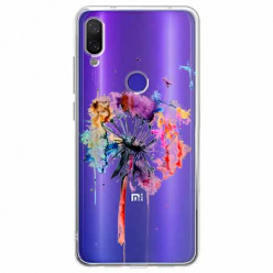 Etui na Xiaomi Redmi Note 7 -  Watercolor dmuchawiec.