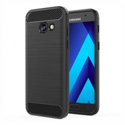 Etui na Samsung Galaxy A3 2017  - bumper Neo CARBON - Czarny.