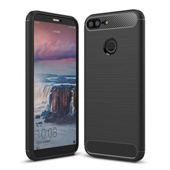 Etui na Huawei Honor 9 Lite - bumper Neo CARBON - Czarny.