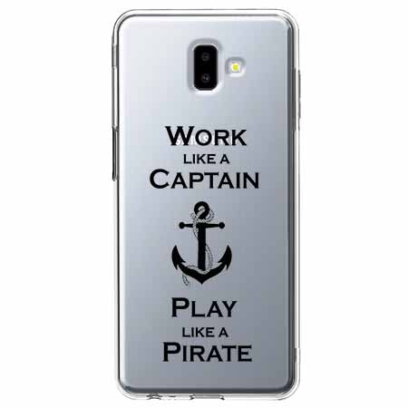 Etui na Galaxy J6 Plus - Work like a Captain…