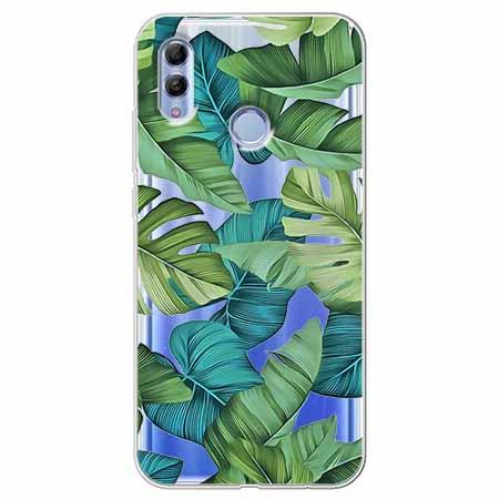 Etui na Huawei Honor 10 Lite - Egzotyczne liście
