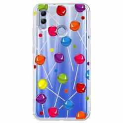 Etui na Huawei Honor 10 Lite - Kolorowe lizaki.