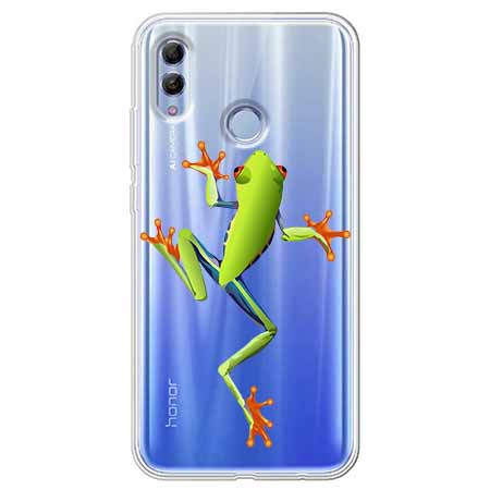 Etui na Huawei Honor 10 Lite - Zielona żabka.