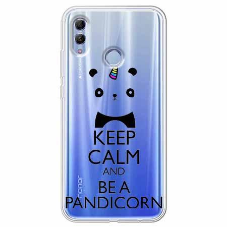 Etui na Huawei Honor 10 Lite - Keep Calm… Pandicorn.