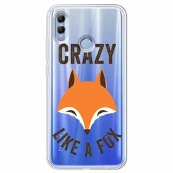 Etui na Huawei Honor 10 Lite - Crazy like a fox.
