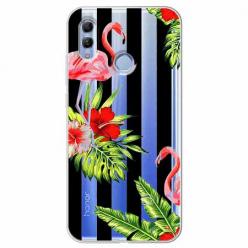 Etui na Huawei Honor 10 Lite - Opowieści flamingów.