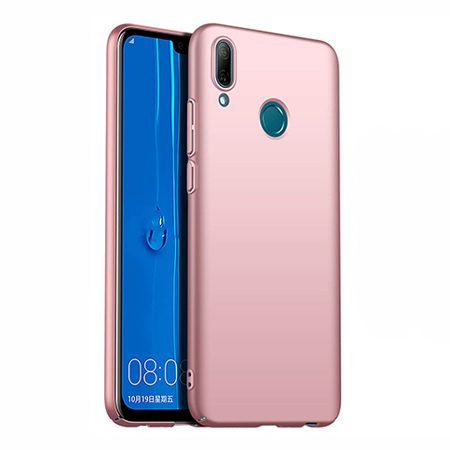 Etui na telefon Huawei P Smart 2019 - Slim MattE - Różowy.