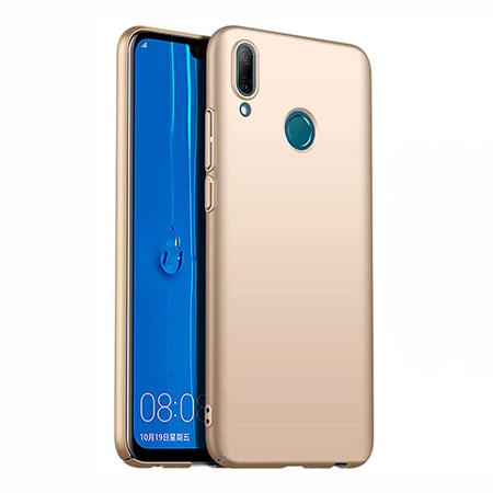 Etui na telefon Huawei P Smart 2019 - Slim MattE - Złoty.