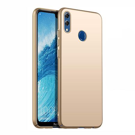 Etui na telefon Huawei Honor 8X - Slim MattE - Złoty.