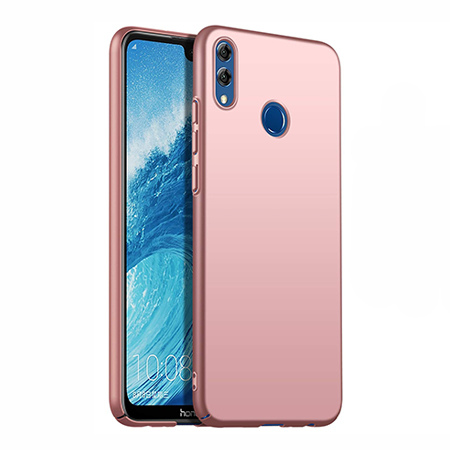 Etui na telefon Huawei Honor 8X - Slim MattE - Różowy.