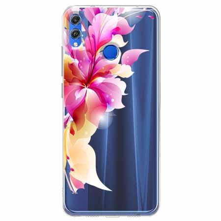 Etui na Huawei Honor 8X - Bajeczny kwiat.