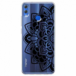 Etui na Huawei Honor 8X - Kwiatowa mandala.