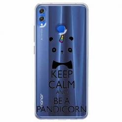Etui na Huawei Honor 8X - Keep Calm… Pandicorn.