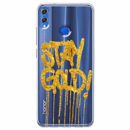 Etui na Huawei Honor 8X - Stay Gold.