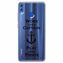 Etui na Huawei Honor 8X - Work like a Captain…