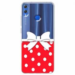 Etui na Huawei Honor 8X - Gustowna kokardka.