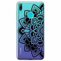 Etui na Huawei P Smart 2019 - Kwiatowa mandala.