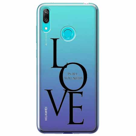 Etui na Huawei P Smart 2019 - All you need is LOVE.