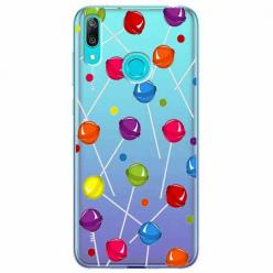 Etui na Huawei Y7 2019 - Kolorowe lizaki.