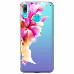 Etui na Huawei Y7 2019 - Bajeczny kwiat.