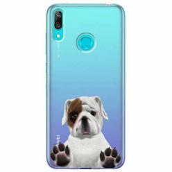 Etui na Huawei Y7 2019 - Słodki szczeniaczek.
