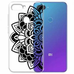Etui na Xiaomi Mi 8 Lite - Kwiatowa mandala.