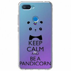 Etui na Xiaomi Mi 8 Lite - Keep Calm… Pandicorn.