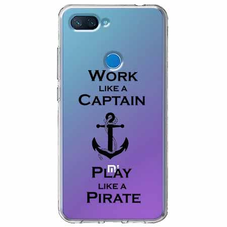 Etui na Xiaomi Mi 8 Lite - Work like a Captain…