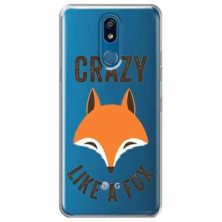 Etui na LG K40 - Crazy like a fox.