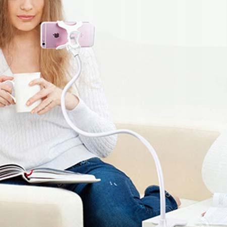Elastyczny uchwyt na telefon, statyw Elastico - Biały
