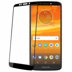 Motorola E5 Plus hartowane szkło 5D Full Glue - Czarny