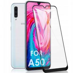 Galaxy A50 hartowane szkło 5D Full Glue - Czarny