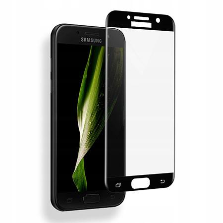 Galaxy A5 2017 hartowane szkło 5D Full Glue - Czarny