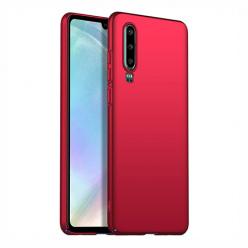 Etui na telefon Huawei P30 - Slim MattE - Czerwony.
