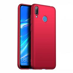 Etui na telefon Huawei Y7 2019 - Slim MattE - Czerwony.