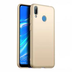 Etui na telefon Huawei Y7 2019 - Slim MattE - Złoty.