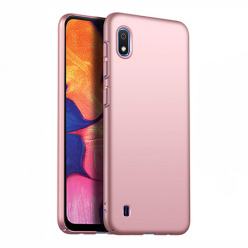 Etui na telefon Samsung Galaxy A10 - Slim MattE - Różowy.