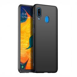Etui na telefon Samsung Galaxy A20 - Slim MattE - Czarny.